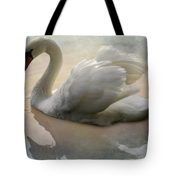The Magical Swan  Tote Bag