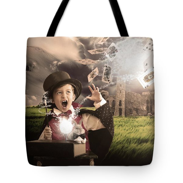 Tote Bag featuring the photograph The Magician by Jeremy Martinson