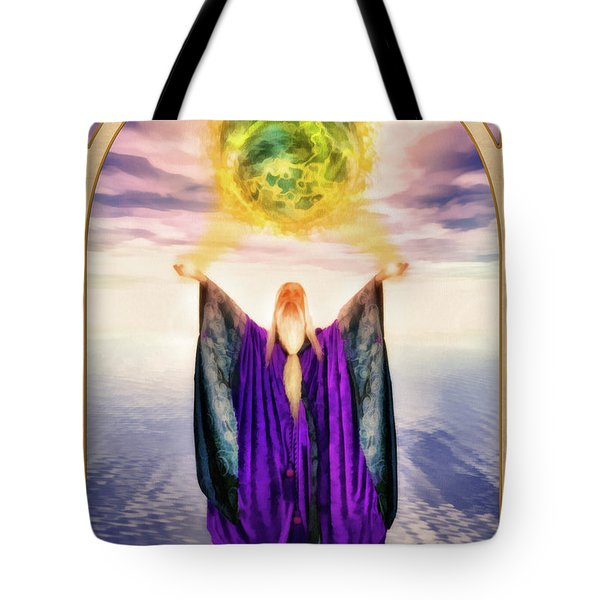 The Magician Tote Bag by John Edwards