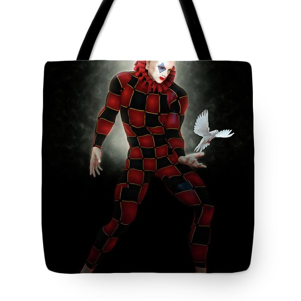 The Magician Of The Pigeons Tote Bag