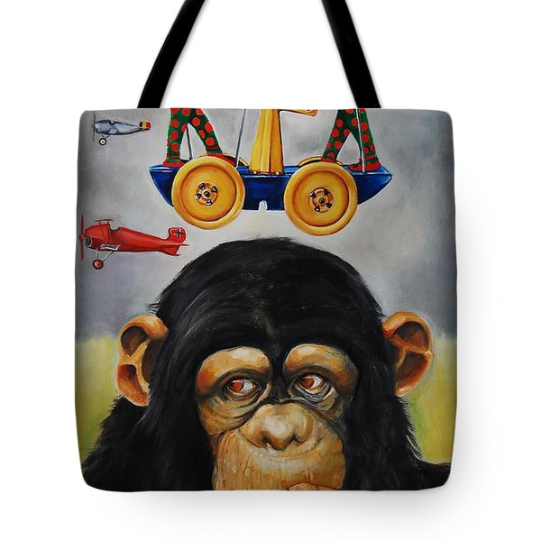 The Magnificent Flying Strauss Tote Bag