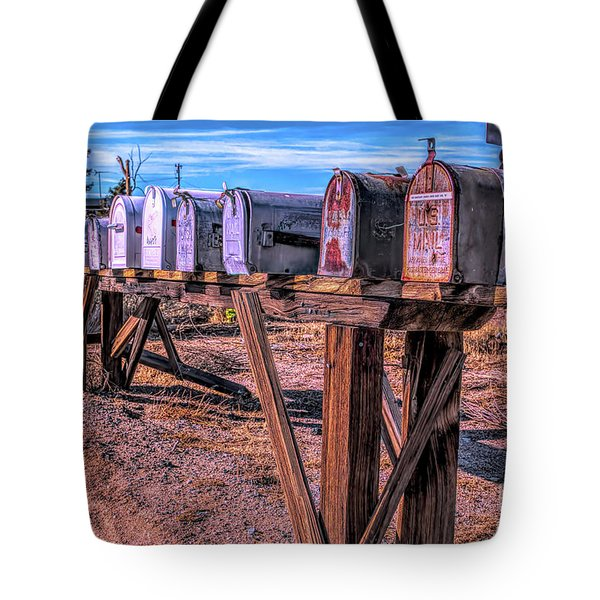 The Mailboxes Tote Bag