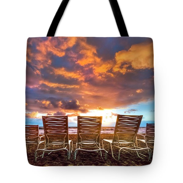 The Main Event Tote Bag by Debra and Dave Vanderlaan