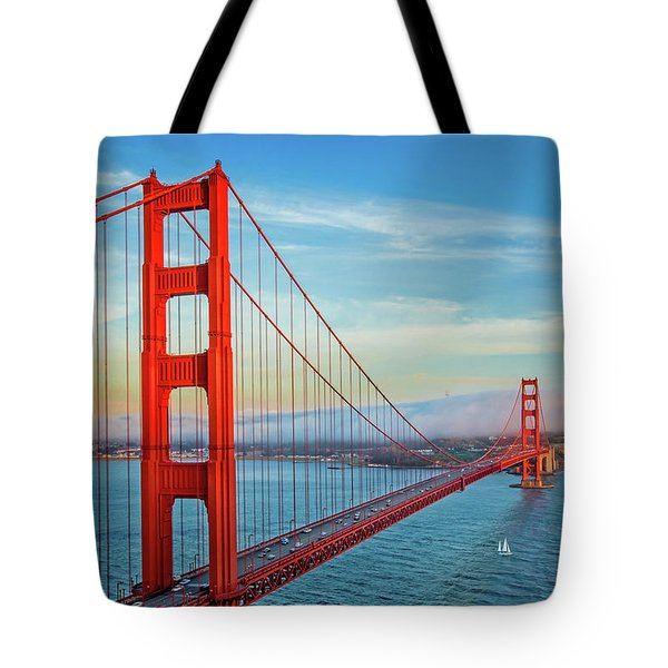 Tote Bag featuring the photograph The Majestic by Az Jackson
