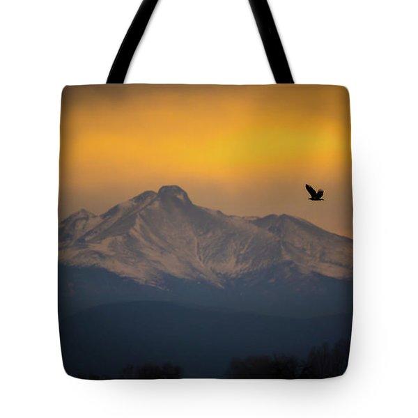The Majestic Bald Eagle Tote Bag
