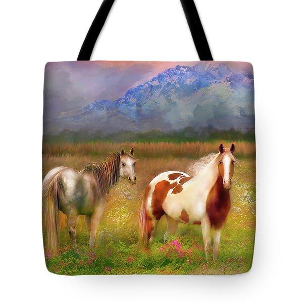 The Majestic Pasture Tote Bag