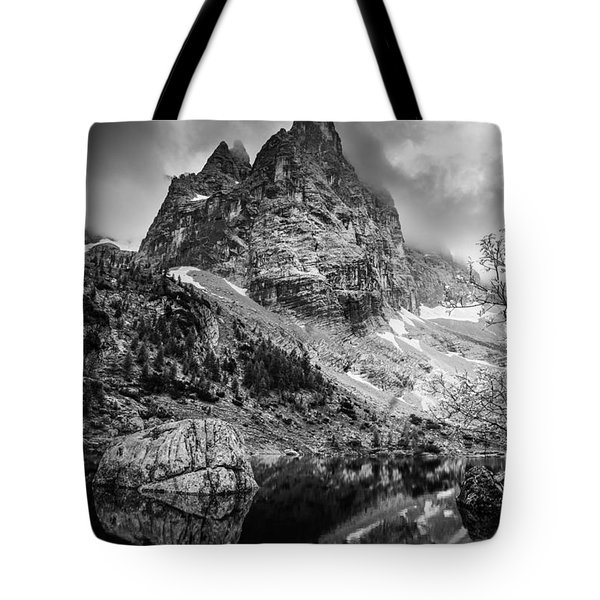 The Majesty Of Mountains Tote Bag by Yuri Santin