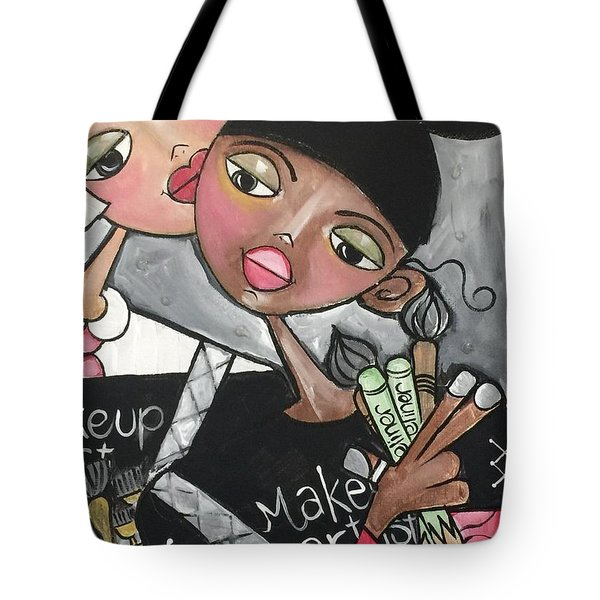 The Makeup Artist Tote Bag