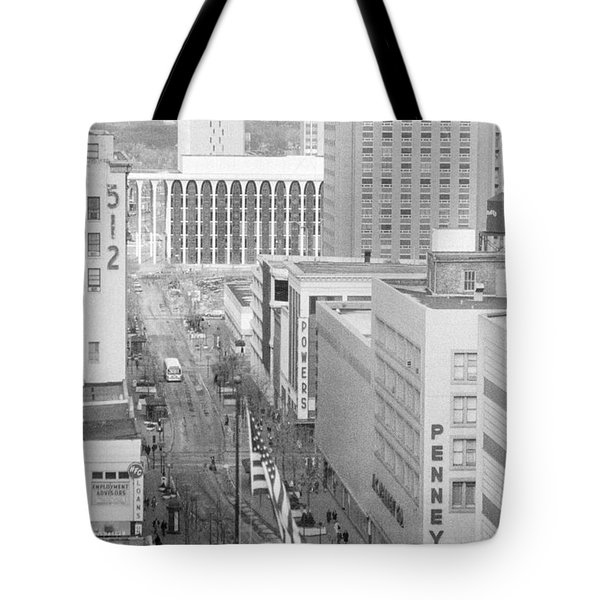 The Mall From Dayton's 12th Floor Tote Bag