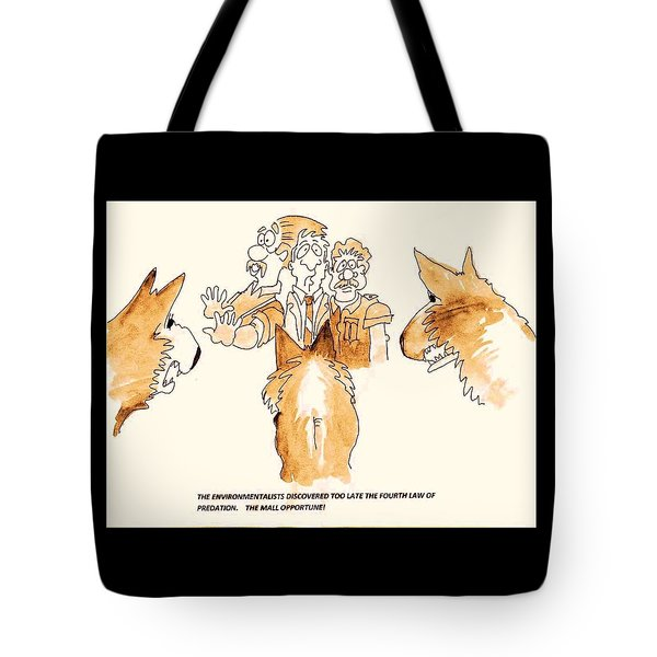 The Mall Opportune Tote Bag