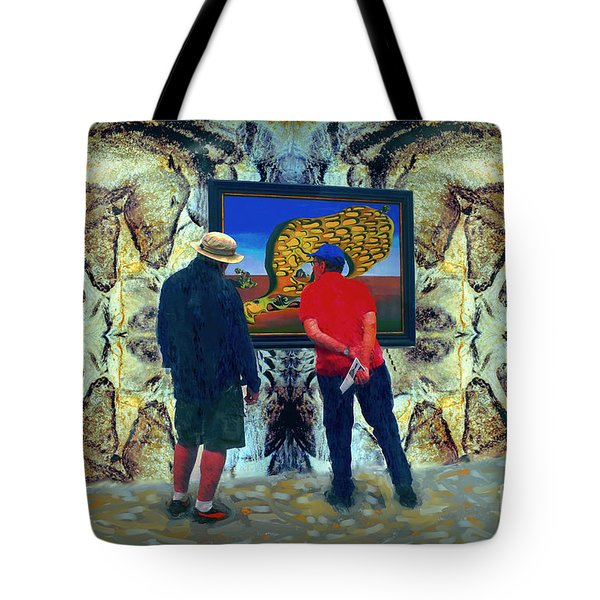 The Man Cave Enigma Tote Bag by Gerhardt Isringhaus