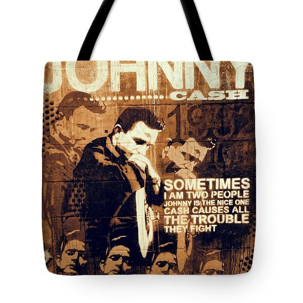 The Man In Black Quote Tote Bag