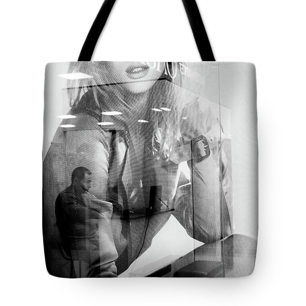 Tote Bag featuring the photograph The Man Inside Me by John Williams