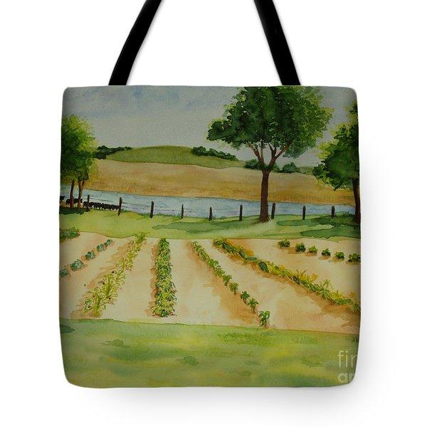 The Mangan Farm  Tote Bag by Vicki  Housel