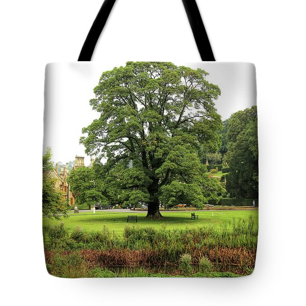 Tote Bag featuring the photograph The Manor Castle Combe by Michael Hope