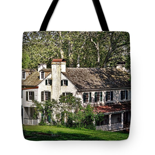 The Mansion At Hopewell Furnace Tote Bag