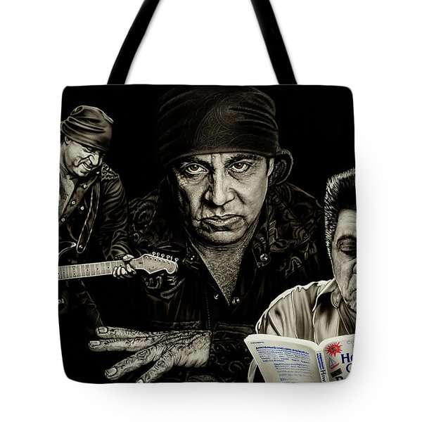 The Many Faces Of Lil Steven Tote Bag