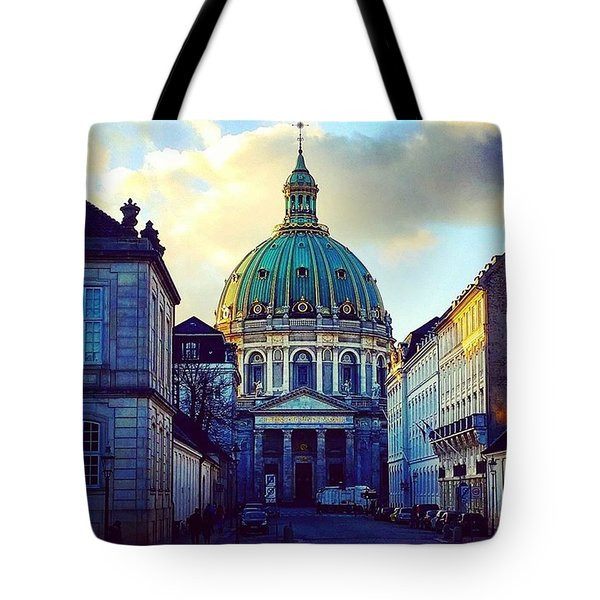 The Marble Church Copenhagen Tote Bag