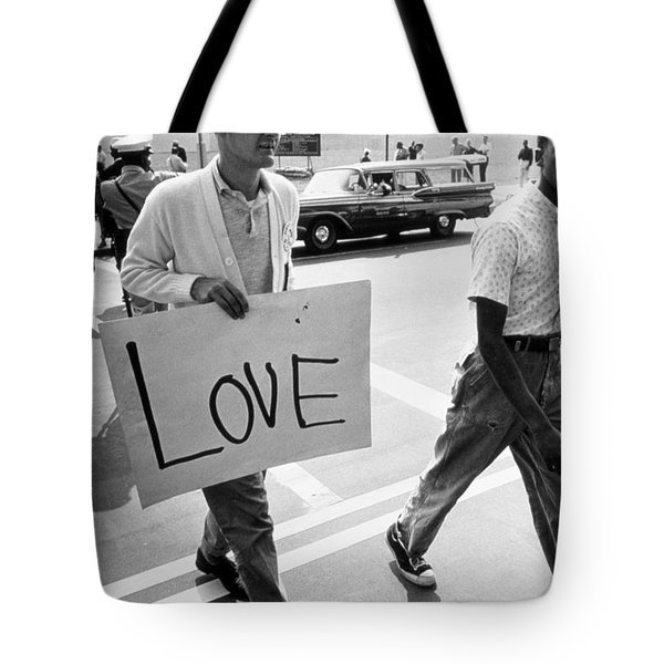 The March On Washington   Love Tote Bag