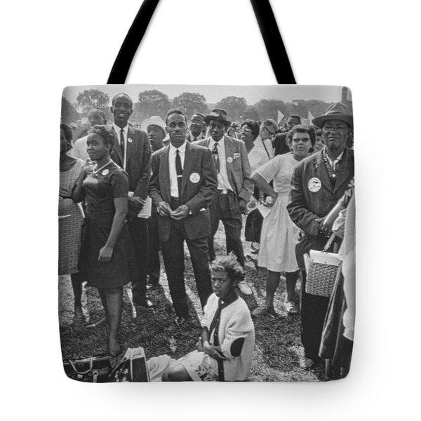 The March On Washington  Washington Monument Grounds Tote Bag