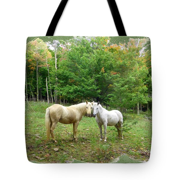 The Mares Watch Tote Bag