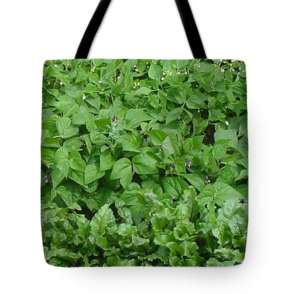 The Market Garden Portrait Tote Bag