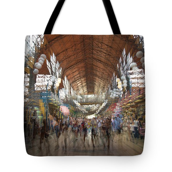 Tote Bag featuring the photograph The Market Hall by Alex Lapidus