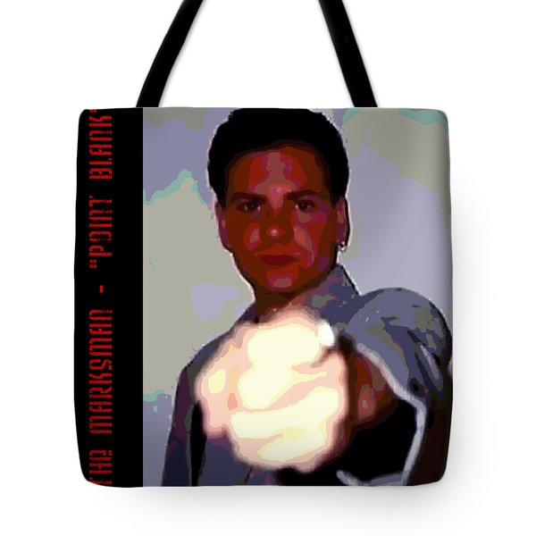 The Marksman - Point Blank Tote Bag