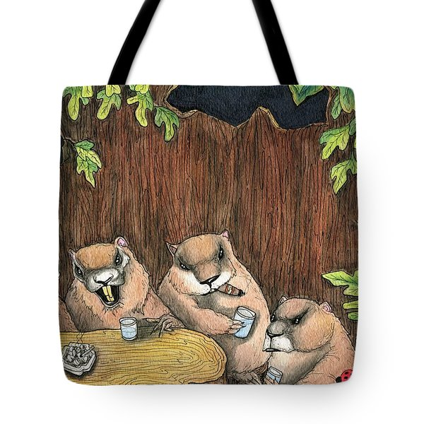 The Marmot Mafia Tote Bag