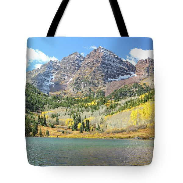 The Maroon Bells 2 Tote Bag