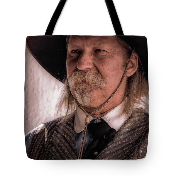 The Marshal Tote Bag