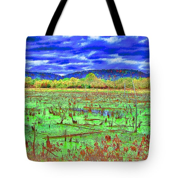 The Marshlands Tote Bag