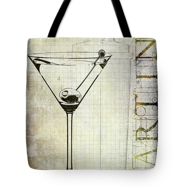 The Martini Tote Bag by Jon Neidert