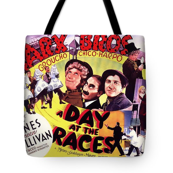 The Marx Bros - A Day At The Races 1937 Tote Bag