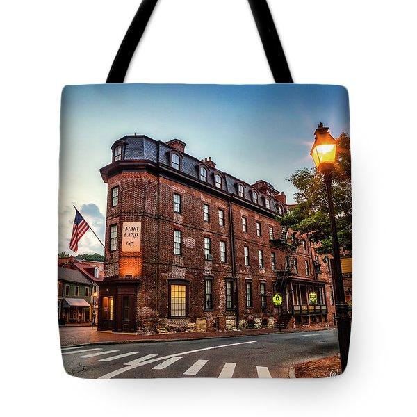 The Maryland Inn Tote Bag