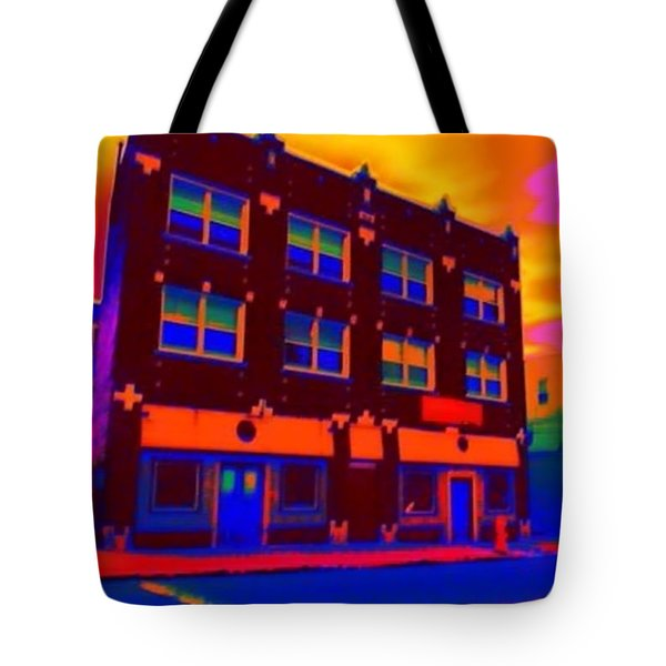 The Marz Hotel Tote Bag