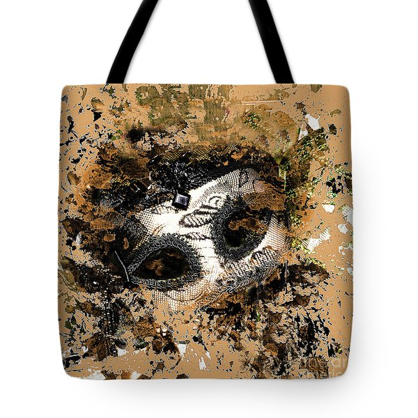 Tote Bag featuring the photograph The Mask Of Fiction by LemonArt Photography