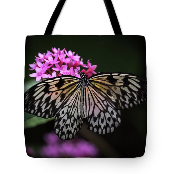 The Master Calls A Butterfly Tote Bag