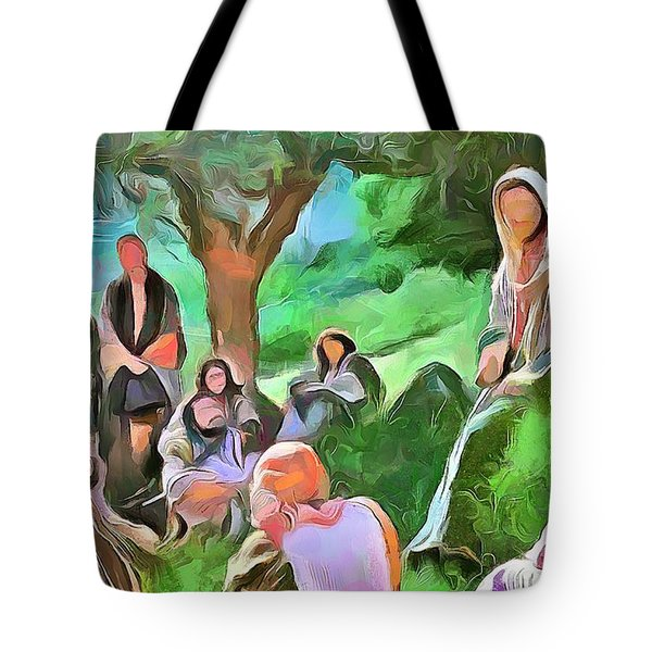 The Master Teacher Tote Bag by Wayne Pascall