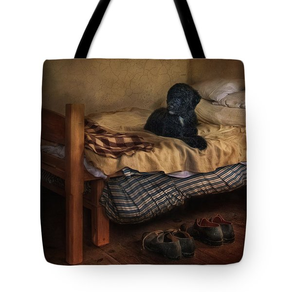 The Master's Shoes Tote Bag by Robin-Lee Vieira