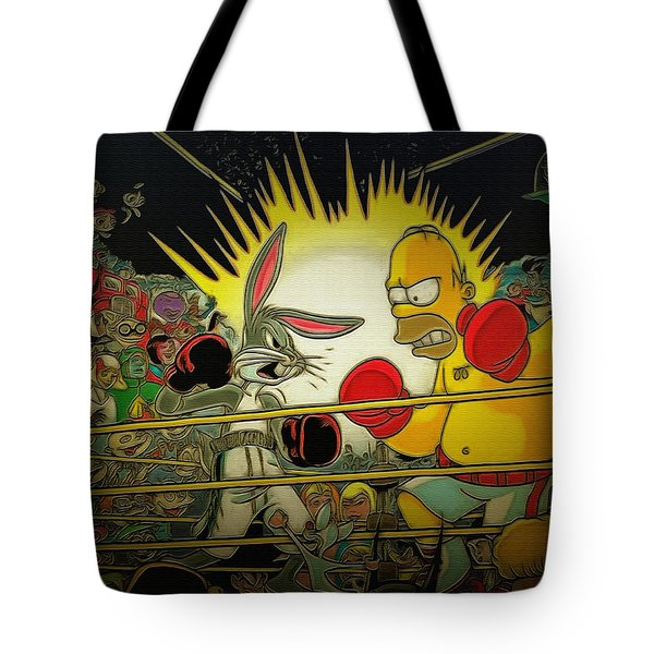 The Match Of The Century Tote Bag