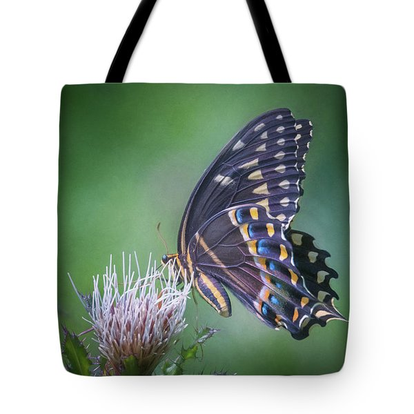 The Mattamuskeet Butterfly Tote Bag