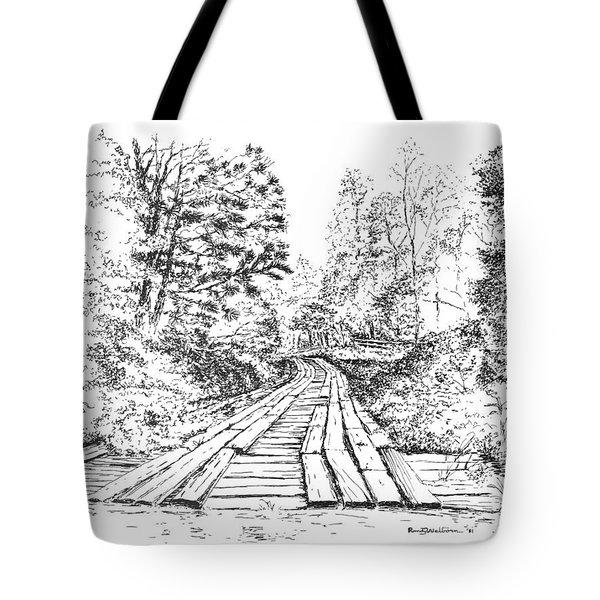 The Mcneely Bridge Tote Bag