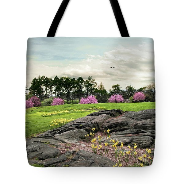 Tote Bag featuring the photograph The Meadow Beyond by Jessica Jenney