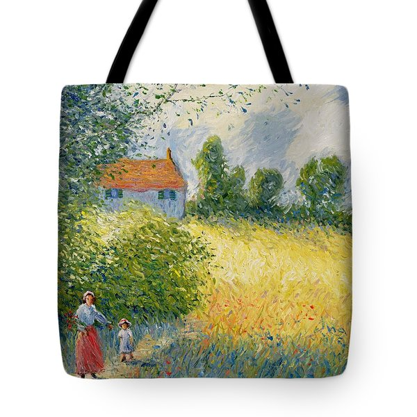 The Meadow Path  Tote Bag by Richard Kretchmer