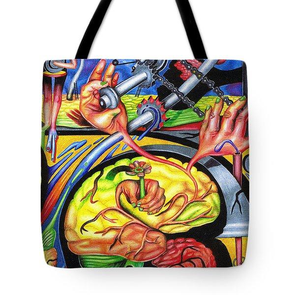 The Mechanics Of Consciousness Tote Bag