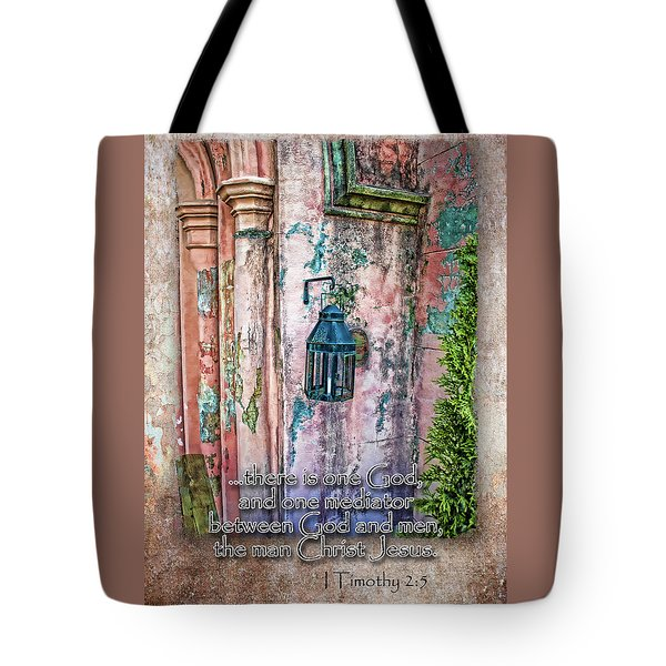 The Mediator Tote Bag by Larry Bishop
