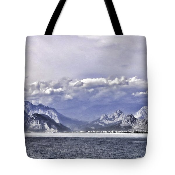 The Mediterranean Coast Tote Bag