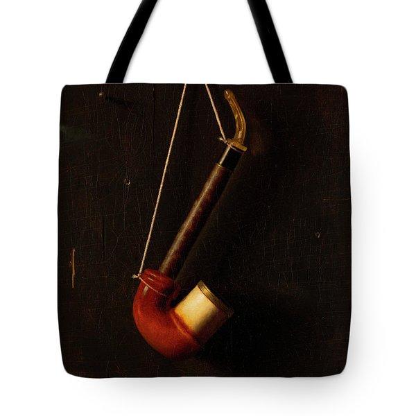 The Meerschaum Pipe Tote Bag