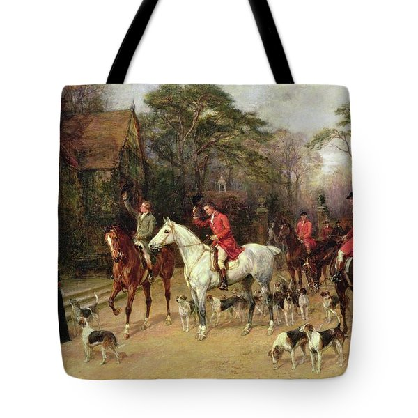 The Meet At The Manor House Tote Bag